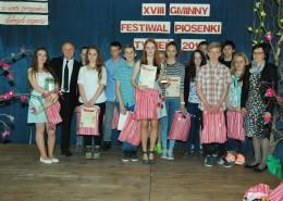 Fot. Zwycięzcy IV kategorii: klasy I – III gimnazjum