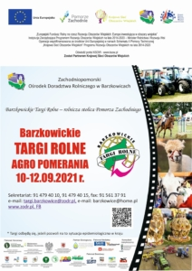 plakat targów rolnych